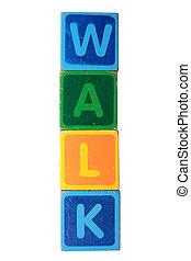 walk in toy block letters