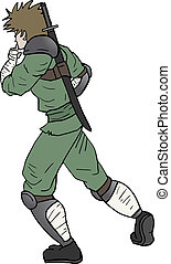 Walk ninja