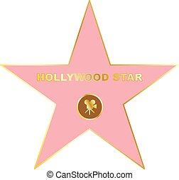 Walk of fame star icon