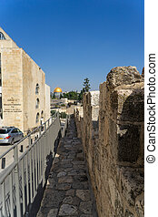 Walk on Jerusalem walls