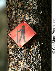 walk this trail - trail sign