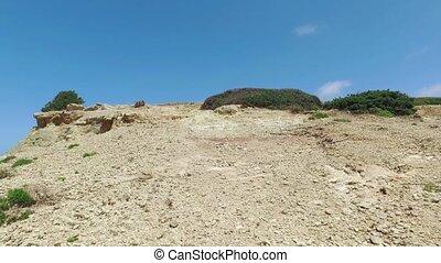 Walk Through a Limestone Hill, sunny day