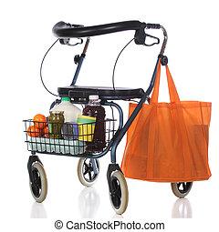walker, shoppen