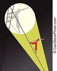 walker tightrope