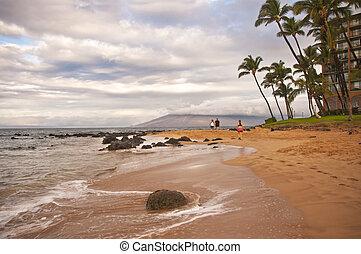 walkers, keawakapu, playa, maui, hawai