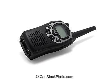 walkie, negro, talkie