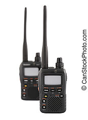 Walkie Talkies - Amateur Radio Devices - Concept of Wireless...