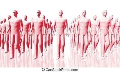 Walking 06 team red