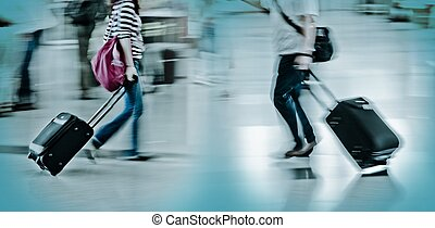 passenger - walking city passenger blur motion