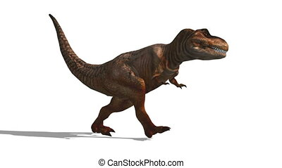 walking dinosaur