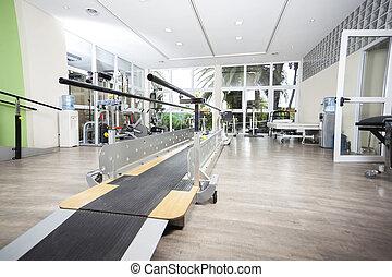 Walking Equipment In Rehab Center - Walking equipment in...