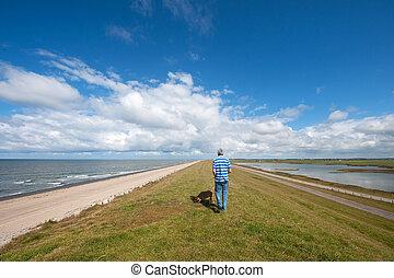 Walking in Dutch nature