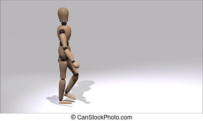 Walking Mannequin