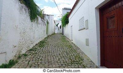 Walking on Old Narrow Street, POV