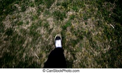Walking on the ground