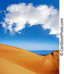 Walking on the top of dunes