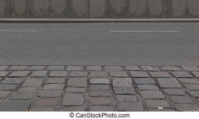 walking people standard loop - people walking on street...