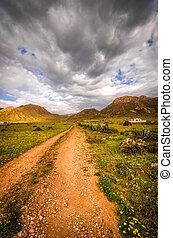 Walking the path to Sierra de Gata