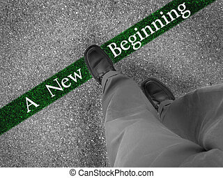 Walking Towards a New Beginning