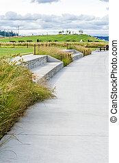 Walkway At Tacoma Park
