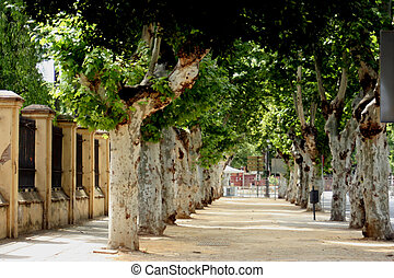 walkway, seville