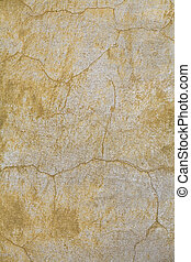 Wall-01 - faded yellow plaster
