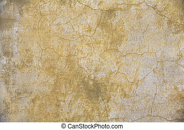 Wall-02 - faded yellow plaster