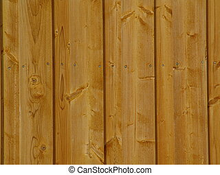 wall 040 - A detail view of a wooden wall.