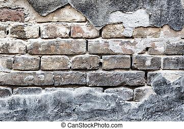 Wall and bricks