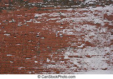 Wall at Winter