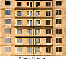 wall., bâtiment, vue
