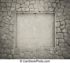 Stone walls and textures for use a background.