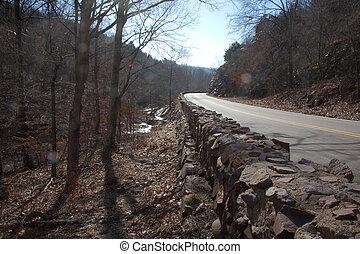 Wall beside a Road
