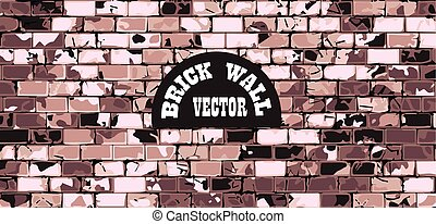 wall brick vintage background