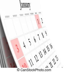 Wall Calendar. Calendar Series. More pages available.