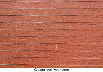 Wall cladding of ceramic tiles