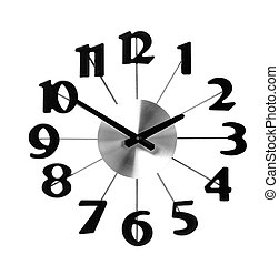 wall clock icon isolated on white background