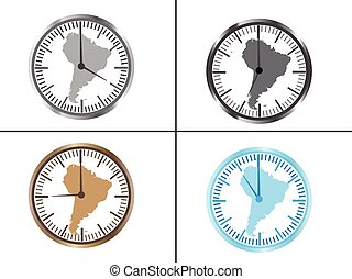 Clock map image of a wall clock on a background map of the world world map wall clock gumiabroncs Images