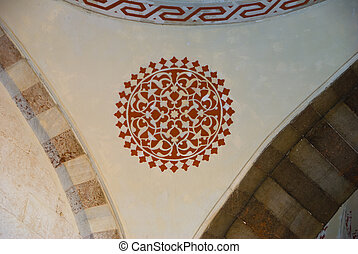 Wall decoration of the Blue Mosque