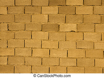 Wall from a brick as a background