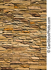 wall from a stone as a background