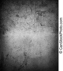 Wall - Grey wall background. Dark edges
