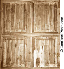 Old brown wooden background texture.