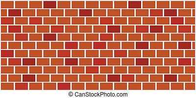 wall illustration - brick wall illustration - vector