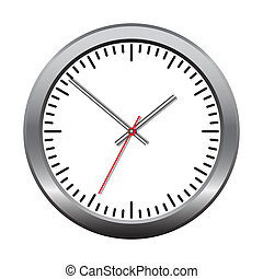 Wall mechanical clock.