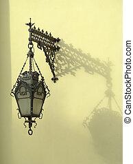 wall-mounted, linterna