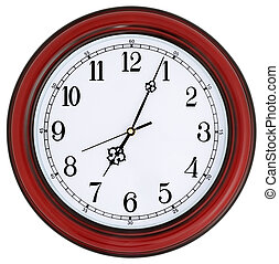 wall-mounted, reloj