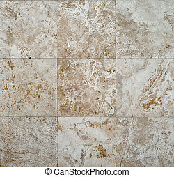 wall of brown stone