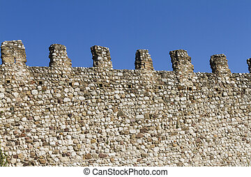 wall of castle