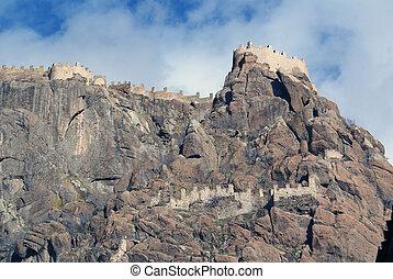 Wall of castle